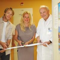 25. výročí transplantační jednotky - otevření herny