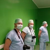 Odborný workshop ortopedů z Běloruska